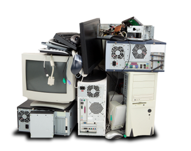 E waste and electronic recycling pick up or drop off services